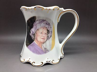 St George China Mug - Queen Mother's 80th 1985