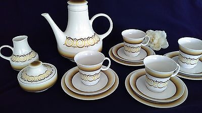 retro NORITAKE ALHAMBRA 7046 vintage tea coffee set Japan Expressions 15 pce vgc