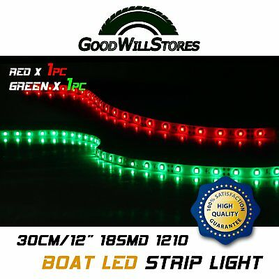 Red green 12v boat submersible marine 1 ft bow navigation led strip red green 12v boat submersible marine 1 ft bow navigation led strip light 1210 aloadofball Gallery
