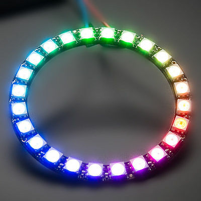 Adafruit NeoPixel Ring 24 x WS2812 5050 RGB LED Licht With Drivers for Arduino