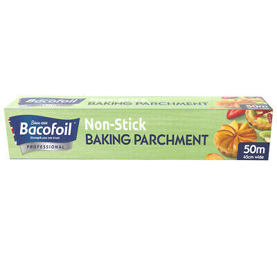 Baco Professional Baking Parchment 50m roll, 45cm width