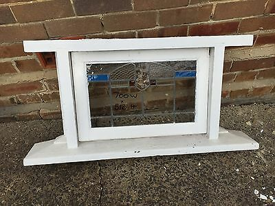 Lead Light Awning Window