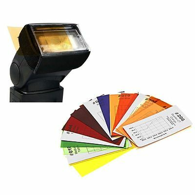 Godox CF-07 7 Colors 35pcs Universal Color Gel Filter Kit for Flash Speedlite