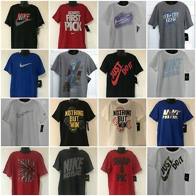 Nike Boy's Kids Youth T-Shirts Small (7-8) Medium (10-12) Large (14-16) Nwt