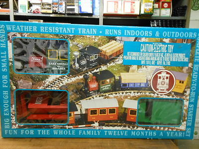 LGB G Scale Work Set w/ Dynamite Car-Lake George & Boulder