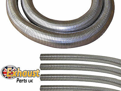 Flexible Tubing Polylock Stainless Steel Heavy Duty Exhaust Generator Pipe DIY
