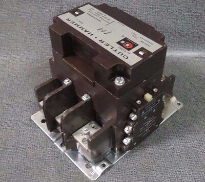 Cutler Hammer Contactor 200 Amp 600 Vac With 480V Coil Model C32Kn3