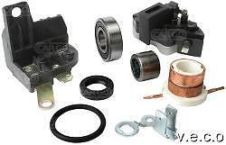 Lucas A127 Alternator Repair Kit Regulator Slip Ring Oil Seal Ring Terminal