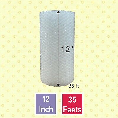 """Bubble 3/16""""x 12"""" Padding Wide Small Mailing  175"""" bubble + Wrap Roll."""