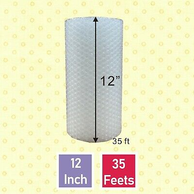 "Bubble 3/16""x 12"" Padding Wide Small Mailing  175"" bubble + Wrap Roll."