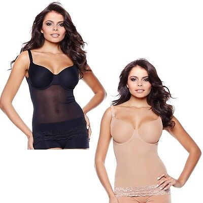 Rhonda Shear Power Mesh Step-In Underwire Cami 267392 CLEARANCE NOW $18