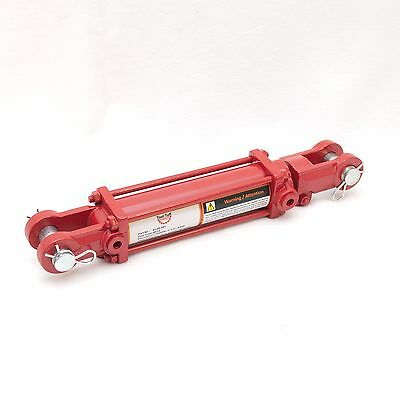 """Tie Rod Cylinder 2"""" x 6"""",  Hydraulic Double Acting, 2 IN Bore x 6 IN Stroke"""