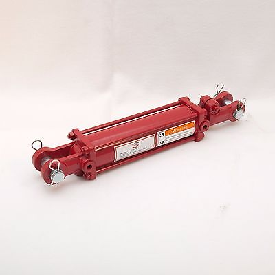 """Tie Rod Cylinder 2.5"""" x 8"""",  Hydraulic Double Acting, 2.5 IN Bore x 8 IN Stroke"""