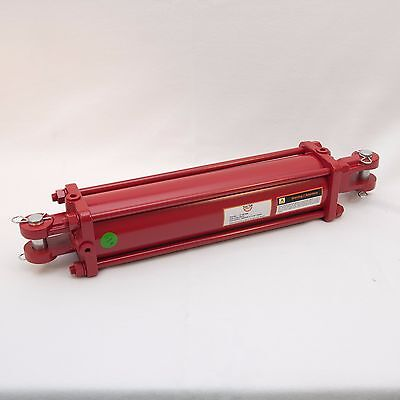 """Tie Rod Cylinder 4"""" x 16"""",  Hydraulic Double Acting, 4 IN Bore x 16 IN Stroke"""