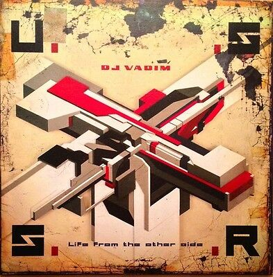 DJ VADIM - USSR LIFE FROM THE OTHER SIDE 180G 2x Vinyl LP Download (NEW) U.S.S.R
