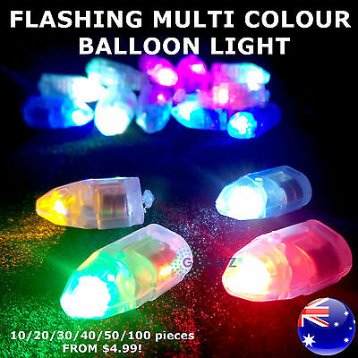 LED BALLOON LIGHT Multi Colour Glowing Flashing For Disco Party And Christmas