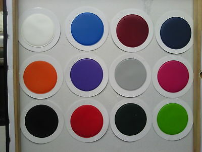 Job Lots Qty 100 Round Tax Discs Holder Mixed Colours