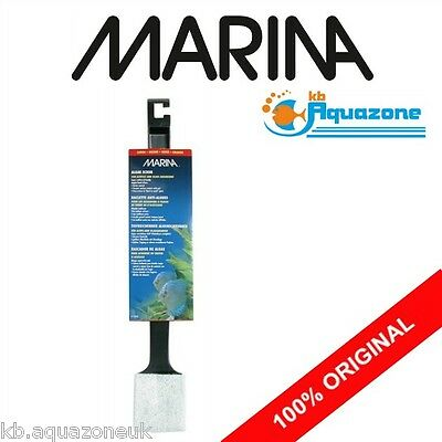 Marina * Hagen * Large * Algae Scrubber With Plastic Handle * Original