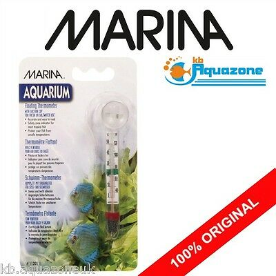 MARINA * HAGEN * FLOATING THERMOMETER WITH SUCTION CUP - Celsius and Fahr