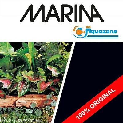 MARINA * Double Sided Background 45 cm HIGH * 2 3 4 5 6 ft * Plant Scene/ Black