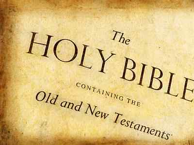 THE HOLY BIBLE 1611 KING JAMES VERSION in text form readable on CD PDF Christ