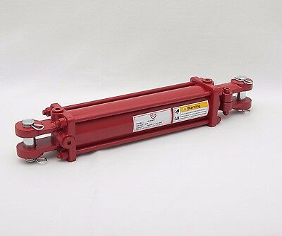 "Tie Rod Cylinder 3"" x 12"",  Hydraulic Double Acting, 3 IN Bore x 12 IN Stroke"