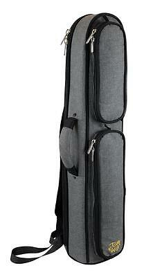Tom and Will Straight GREY/BLACK Soprano Sax Saxophone Gig Bag Case 36SSX-315