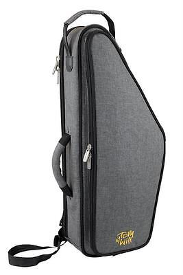 Tom and Will SMOKEY GREY Alto Sax Saxophone Gig Bag Case 36AS-315 **NEW**
