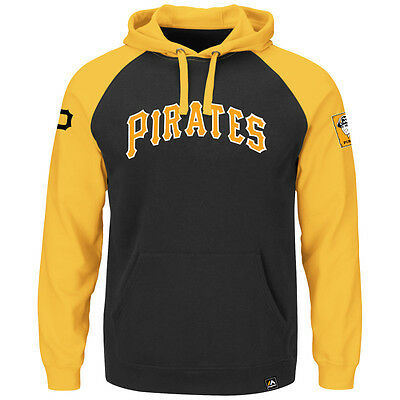 MLB Baseball Hoody Hoodie Kaputzenpullover PITTSBURGH PIRATES Cooperstown hooded