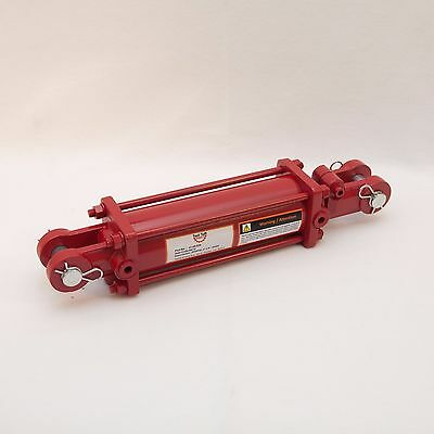 """Tie Rod Cylinder 3"""" x 8"""",  Hydraulic Double Acting, 3 IN Bore x 8 IN Stroke"""