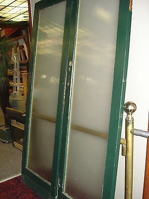 Painted silky oak French doors - suit opening 1380mm(W) x 2060mm(H) - $365.00