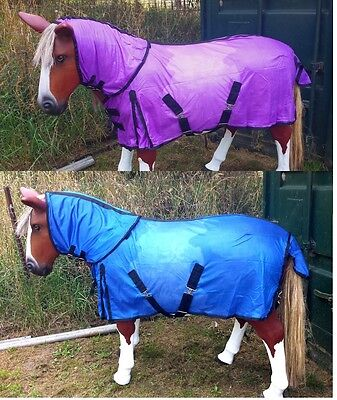 Horse rugs Seconds sale Summer mesh combo rugs  4.3 to 4.9  pink,purple