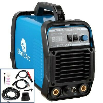 Tig 180A Igbt Inverter Dc Welder Hf Ignition 2-In-1 Mma Arc Welding Machine