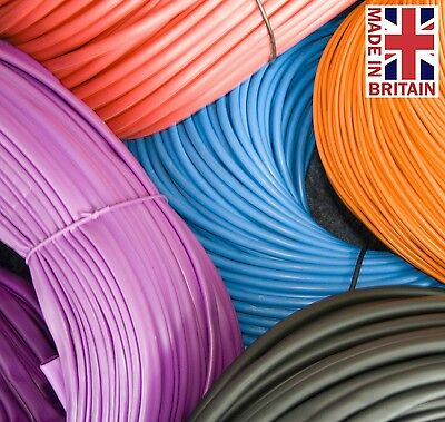 Coloured Flexible PVC Sleeving Cable Wiring Harness Insulation - Various Sizes