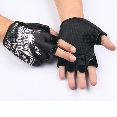 New Riding Cycling Gym Gloves Workout Wrist Wrap Sport Exercise Training Fitness