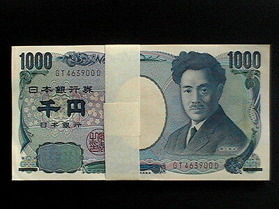 JAPAN 1000 (1,000 YEN 2003)_ UNC_ Uncirculated Banknotes