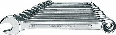 CAROLUS by Gedore 8pc Combination Spanner Set 8-19mm in plastic holder 0900.0008