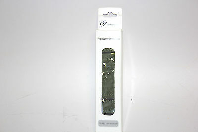 ClockWork Synergy 22mm Premium Classic Interchangeable Replacement Strap Green