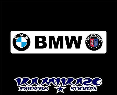 Pegatina Sticker Autocollant Adesivi Aufkleber Decal Bmw Alpina