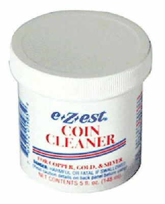 E-Zest Ezest E-Z-EST  Coin Jewelry Cleaner 5oz  for Gold, Silver and Copper