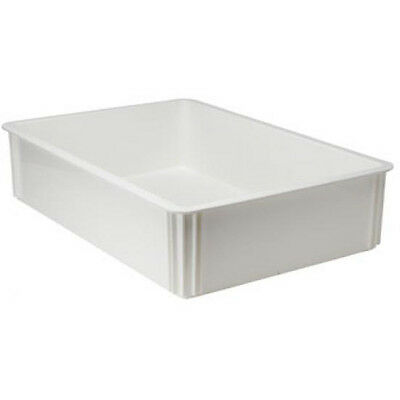 Winware by Winco PL-6 Pizza Dough Box, Plastic, Extra Deep