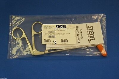 Karl Storz 650212 Forceps W/ Vertical Opening Dbl Action 70degree Up