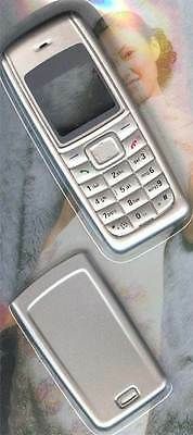 New!! Silver Housing /Fascia /Cover /Case for Nokia 1110 / 1110i / 1112