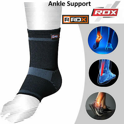 RDX Ankle Support Foot Brace Grip Protector Bandage Sport Lace Up Injury Wrap