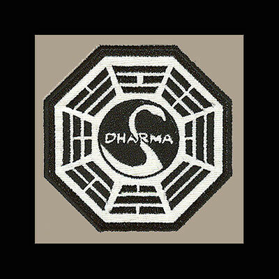 """LOST Dharma Initiative Embroidered patch """"Swan"""""""