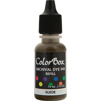 ColorBox Archival Dye Ink Pad Refill Suede AD REFIL-27431