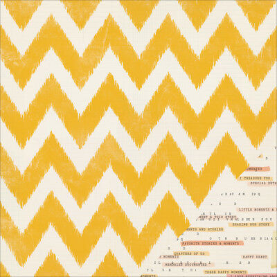 """Maggie Holmes Open Book Double Sided Cardstock 12""""X12"""" Little Notes 683554"""