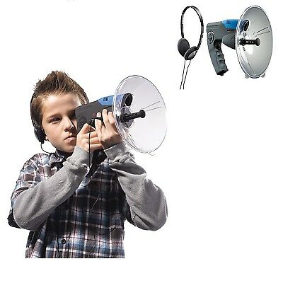 Parabolic Microphone Spy Listening Device Bionic Ear Sound Amplifier Gadget 300m