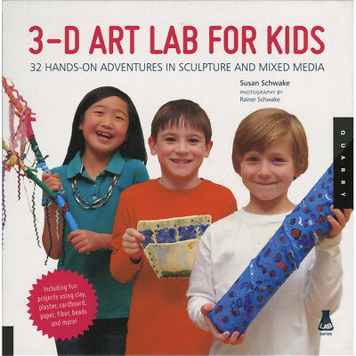 Walter Foster Creative Books 3D Art Lab For Kids WFC-38157