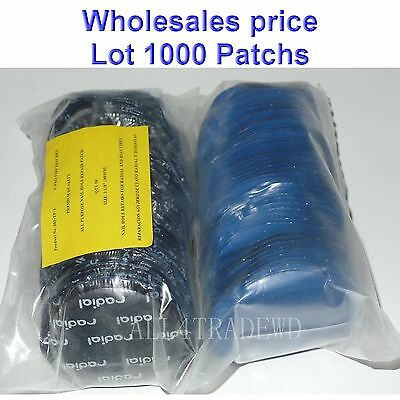 "1000 Pieces Radial Repair Round Tire Patch Large 3.1/8"" - 80 MM Superior Quality"